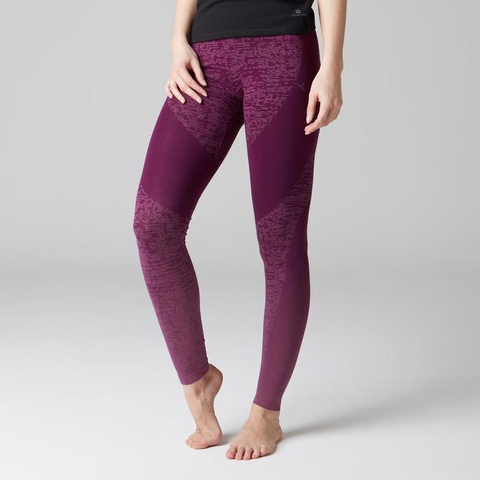 Legging FIT+ 500 slim Gym Stretching femme AOP - 1489583