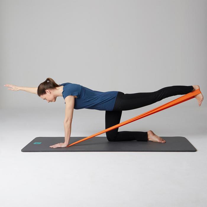 Legging 560 regular fit pilates en lichte gym dames zwart print dots