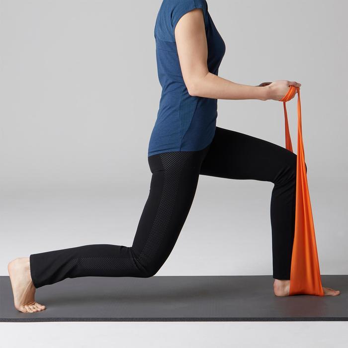 Legging 900 regular Gym Stretching & Pilates Femme noir - 1489606