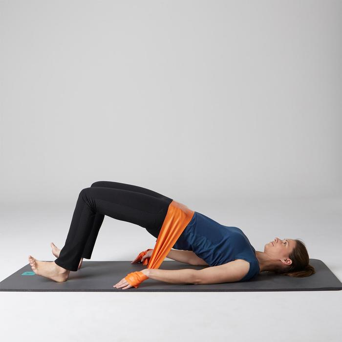 Legging 560 regular Pilates Gym douce femme noir print dots
