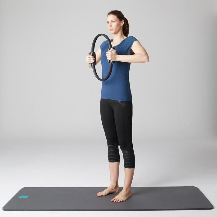 Legging 7/8 900 slim Gym Stretching & Pilates femme noir - 1489638