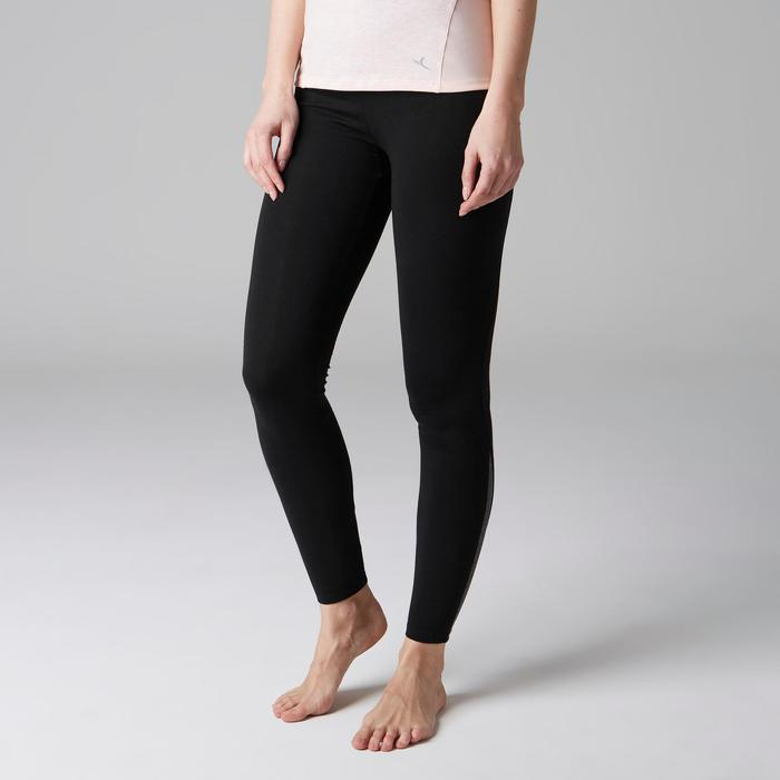 Leggings 520 slim Gimnasia Stretching mujer negro