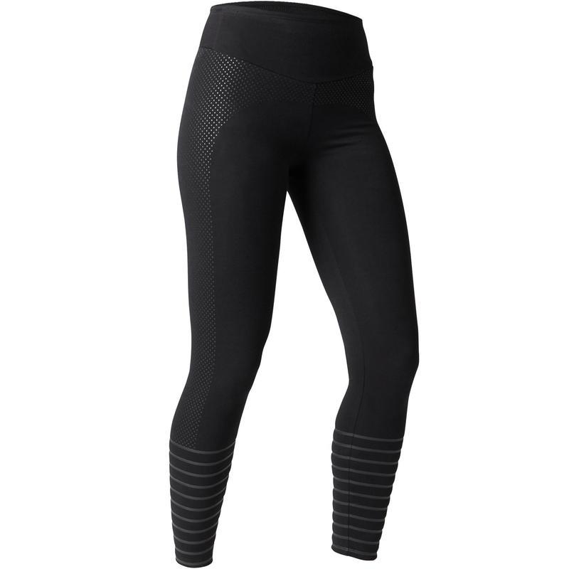 89724d373 Calça Legging Slim de Ginástica e Pilates Feminina Domyos