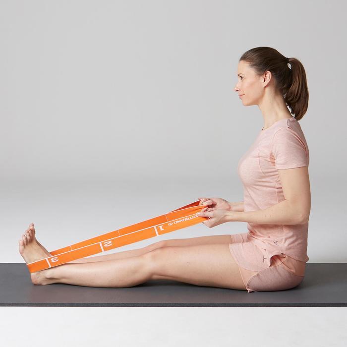 Short 520 Gym Stretching femme rose clair chiné