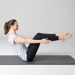 Legging 560 slim fit pilates en lichte gym dames zwart print dots