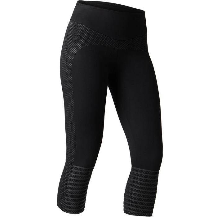 Legging 7/8 900 slim Gym Stretching & Pilates femme noir - 1489741