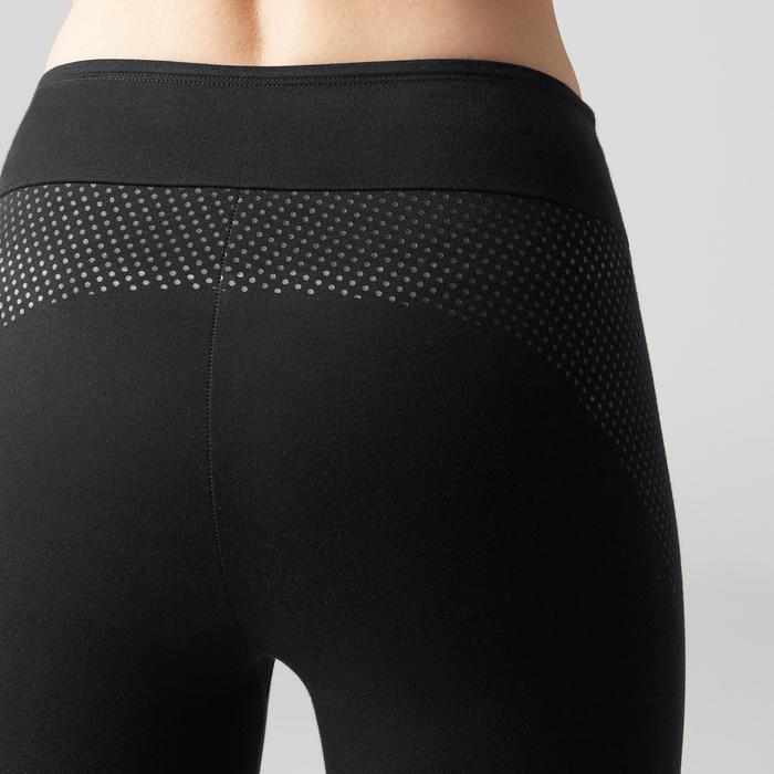 Legging 7/8 900 slim Gym Stretching & Pilates femme noir - 1489755