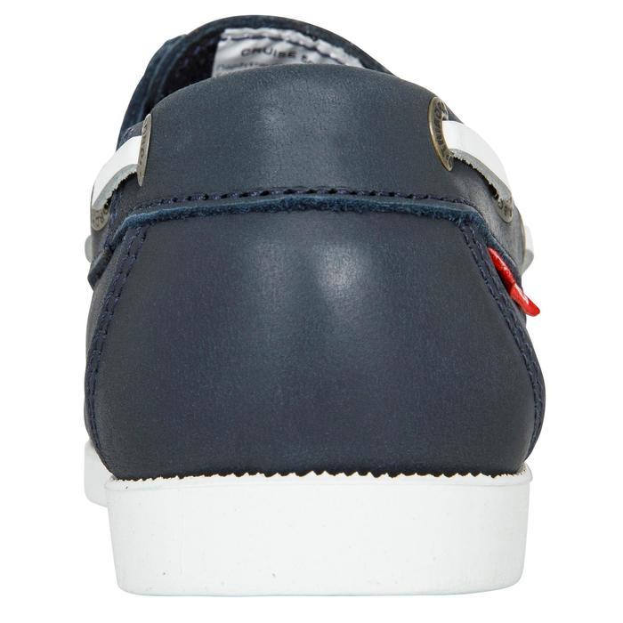 Chaussures bateau cuir enfant Cruise 500 marron - 1489964