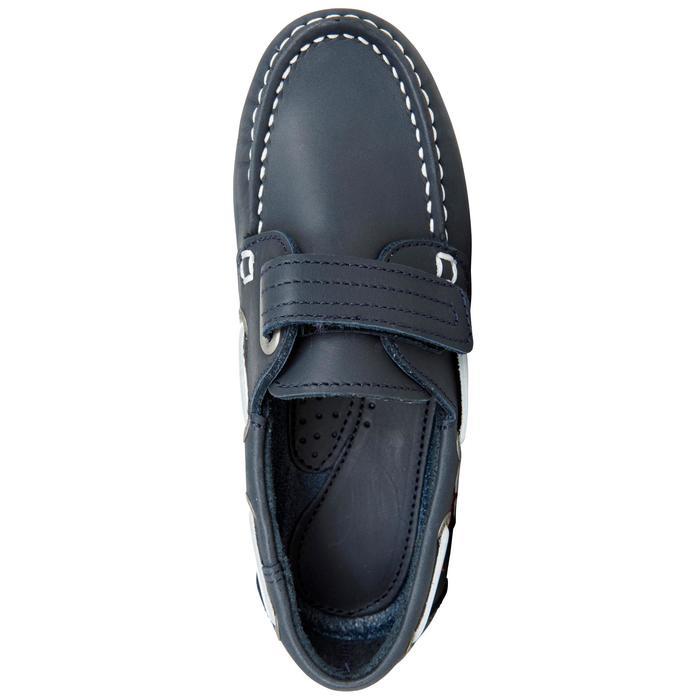 Chaussures bateau cuir enfant Cruise 500 marron - 1489966