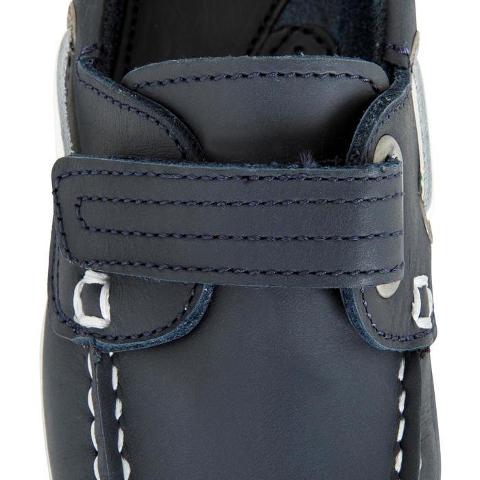 Chaussures bateau cuir enfant Cruise 500 marron - 1489967