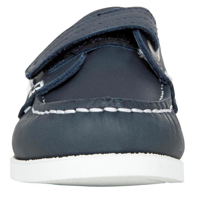 Chaussures bateau cuir enfant Cruise 500 marron - 1489968