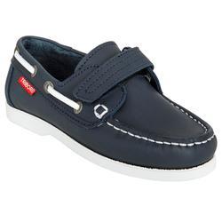 Chaussures bateau cuir enfant Cruise 500 navy