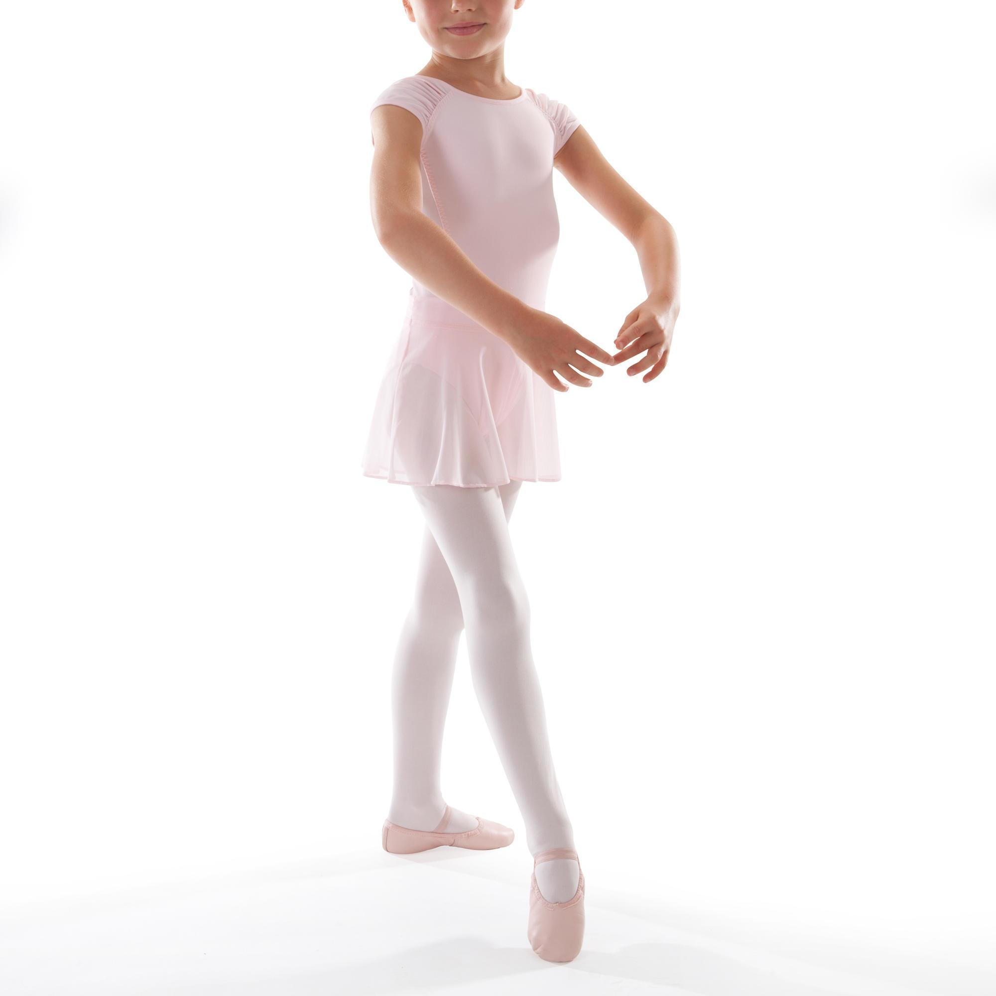 jupette de danse classique en voile fille rose domyos by decathlon. Black Bedroom Furniture Sets. Home Design Ideas