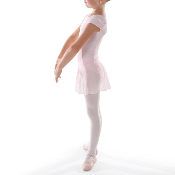 Balletrokje in voile voor meisjes roze - 1489991