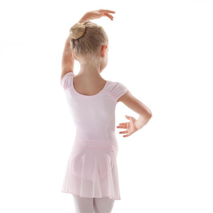 Balletrokje in voile voor meisjes roze - 1489997