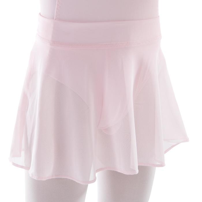 Balletrokje in voile voor meisjes roze - 1490000