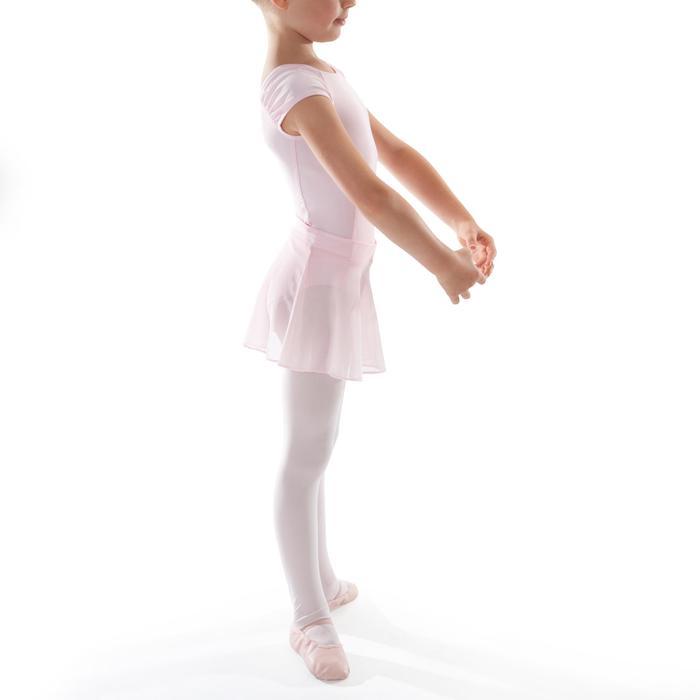 Balletrokje in voile voor meisjes roze - 1490001