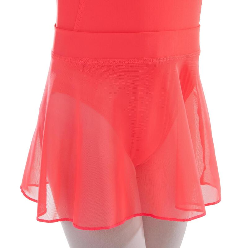 Girls' Voile Ballet Skirt - Coral