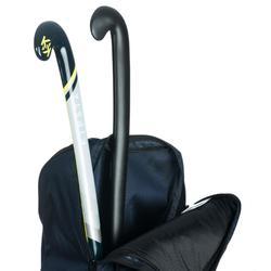 Funda de hockey sobre hierba volumen grande FH500 gris y amarillo