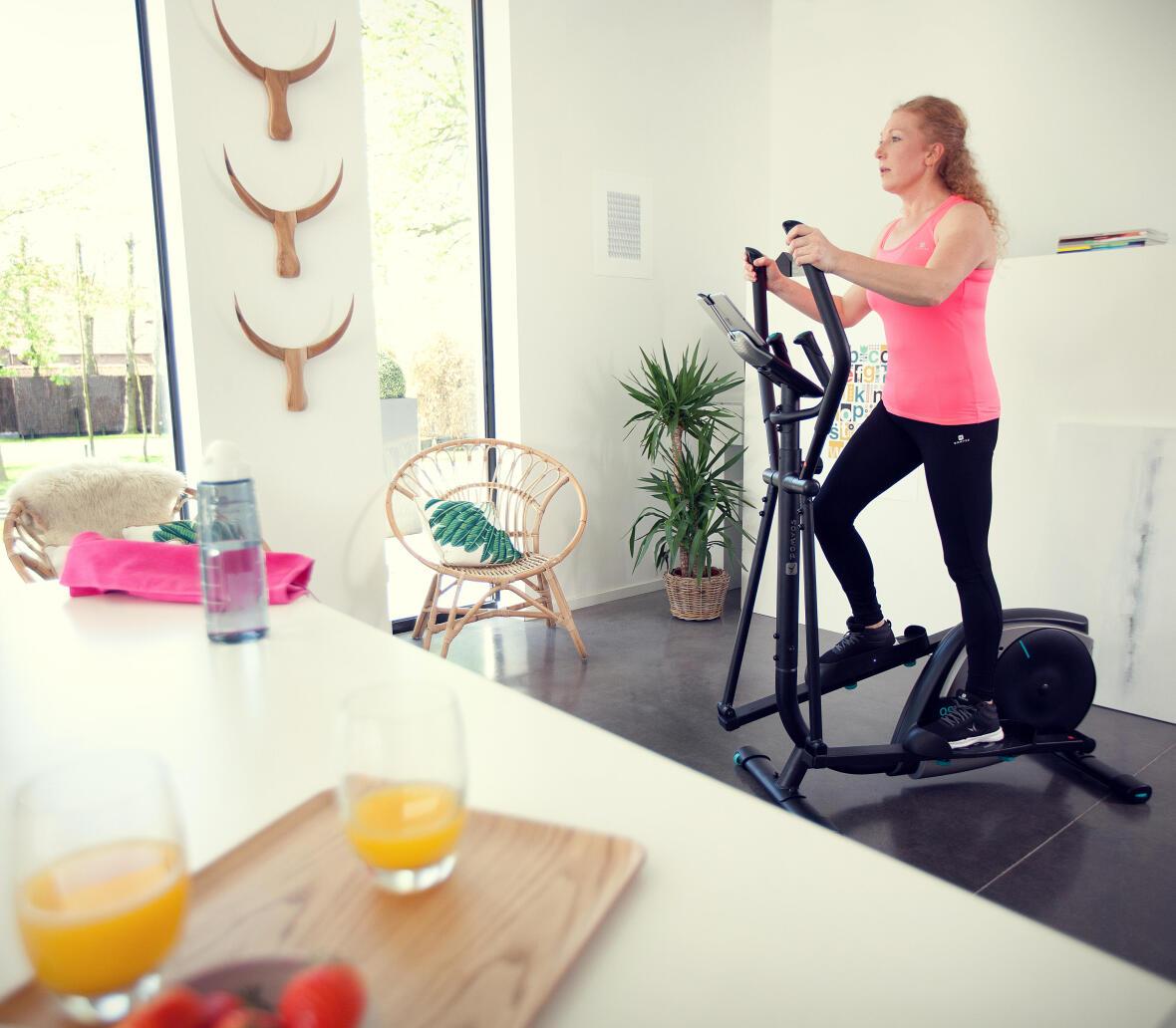 Programme cardio training domyos velo elliptique