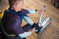 Ботинки неопреновые для подводного плавания SCD 3 мм