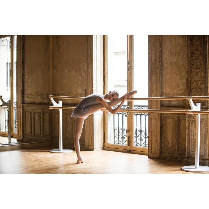 Jupette de danse classique en voile fille parme.