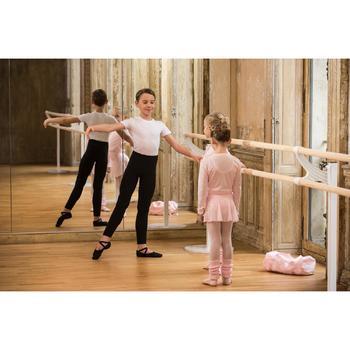 Cache-cœur de danse classique fille rose pâle - 1490147