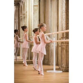 Balletrokje in voile voor meisjes roze - 1490154