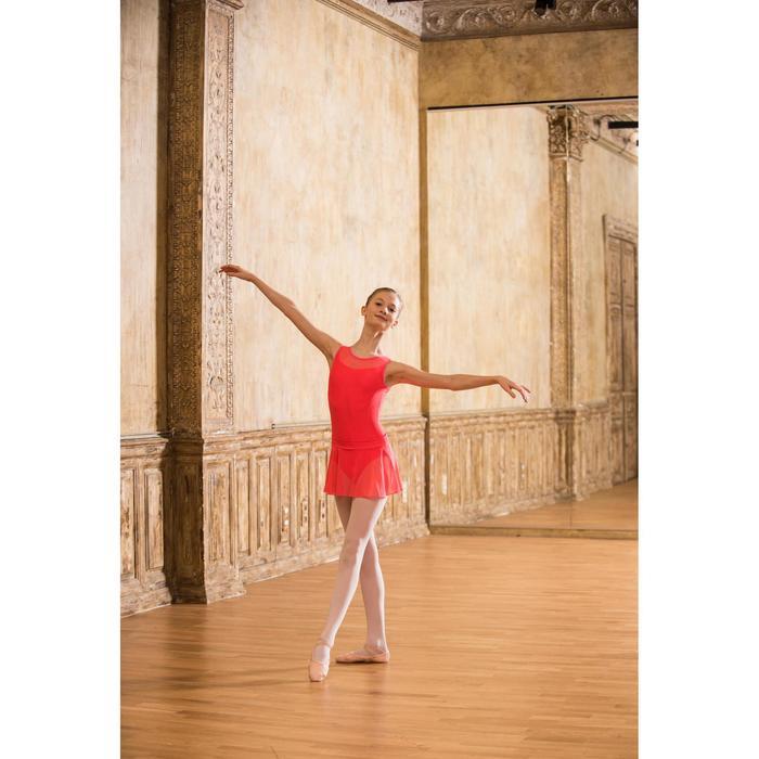 Justaucorps de danse classique bi-matière voile - 1490159