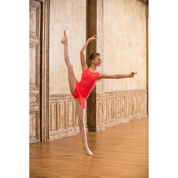 Justaucorps de danse classique bi-matière voile - 1490160
