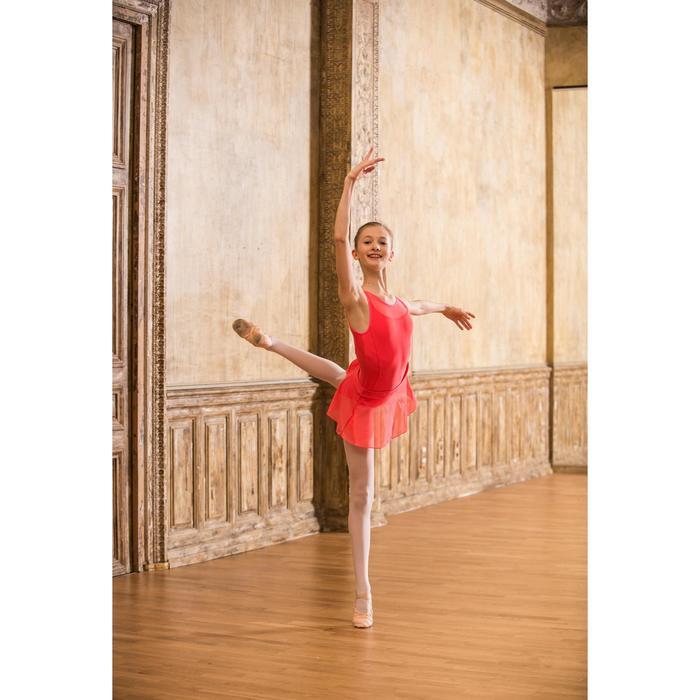 Justaucorps de danse classique bi-matière voile - 1490163