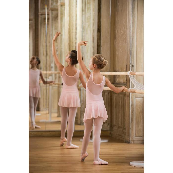 Balletrokje in voile voor meisjes roze - 1490168