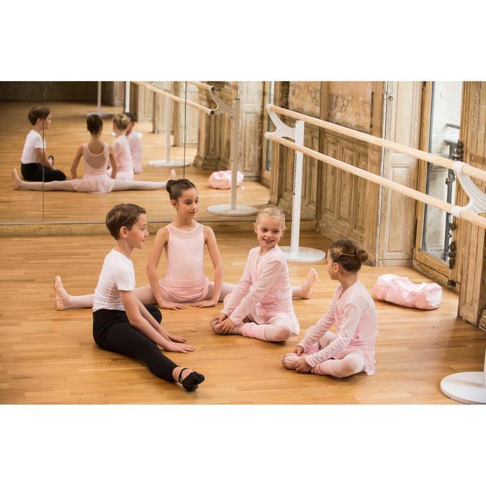 Cache-cœur de danse classique fille rose pâle - 1490170