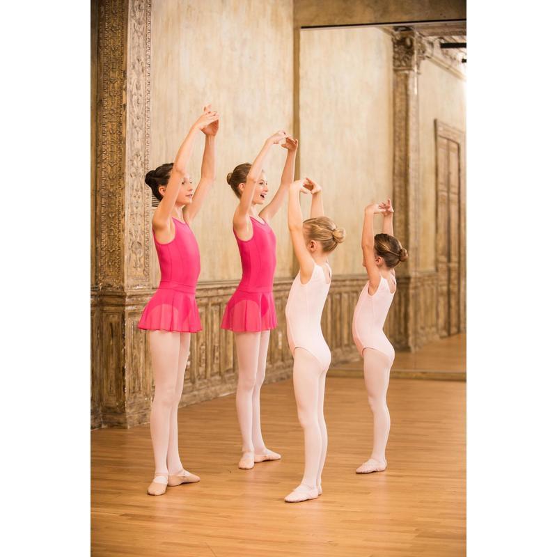 016680e83 Maillot Ballet Domyos Niña Dos Tejidos Rosa Domyos   Decathlon. Discover  also