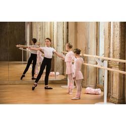 Balletthose lang Jungen schwarz
