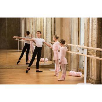 Mallas largas de danza negras para niño