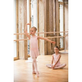 Balletrokje in voile voor meisjes roze - 1490194