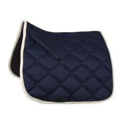 Tapis de selle équitation cheval dressage ESPERIA bleu