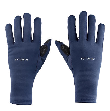 Adult Breathable Mountain Trekking Gloves - TREK 500 - Blue