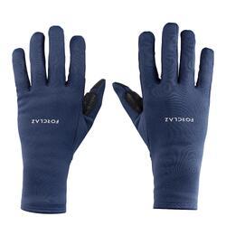 Adult Mountain Trekking Gloves TREK 500 - Navy Blue