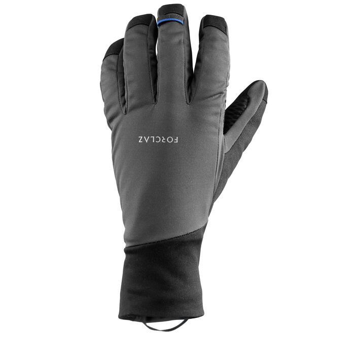 Handschoenen winddicht Trek 700 volwassenen grijs