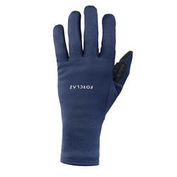Adult Mountain Trekking Gloves TREK 500 - Navy Blue