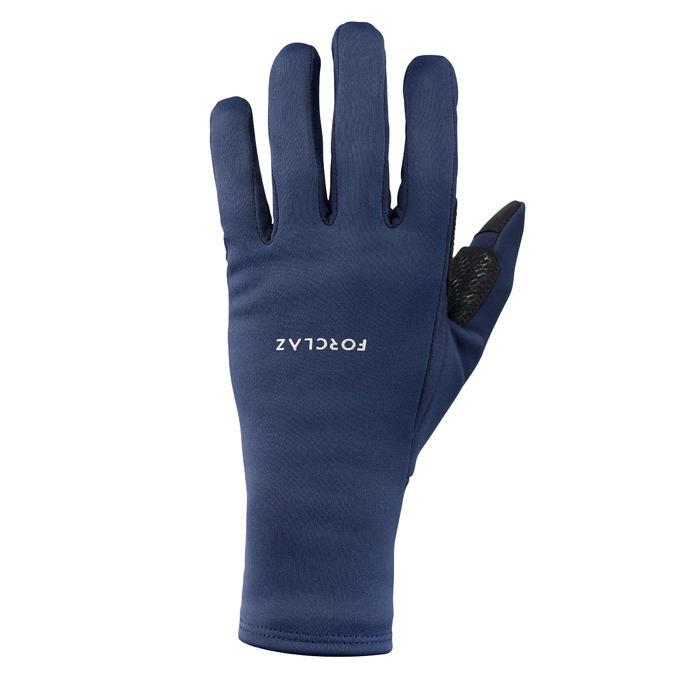 Handschoenen voor bergtrekking Trek 500 volwassenen marineblauw