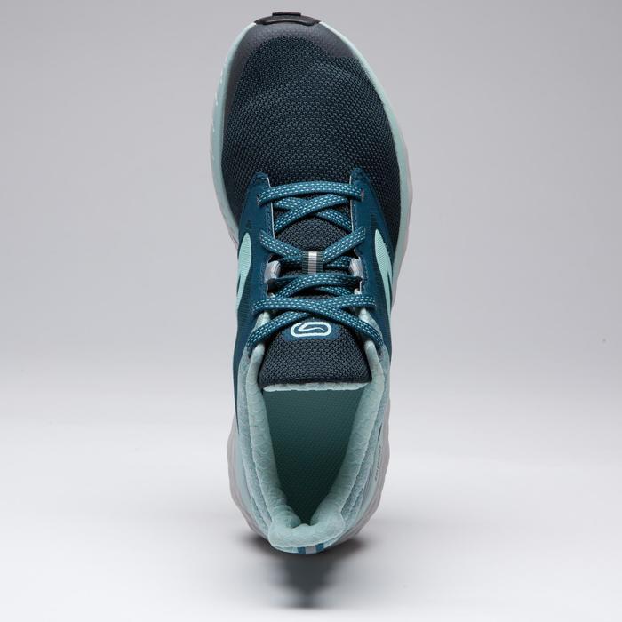 Laufschuhe Run Comfort Damen dunkelgrün