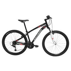 初階運動登山自行車 RR 100 ST - 黑色