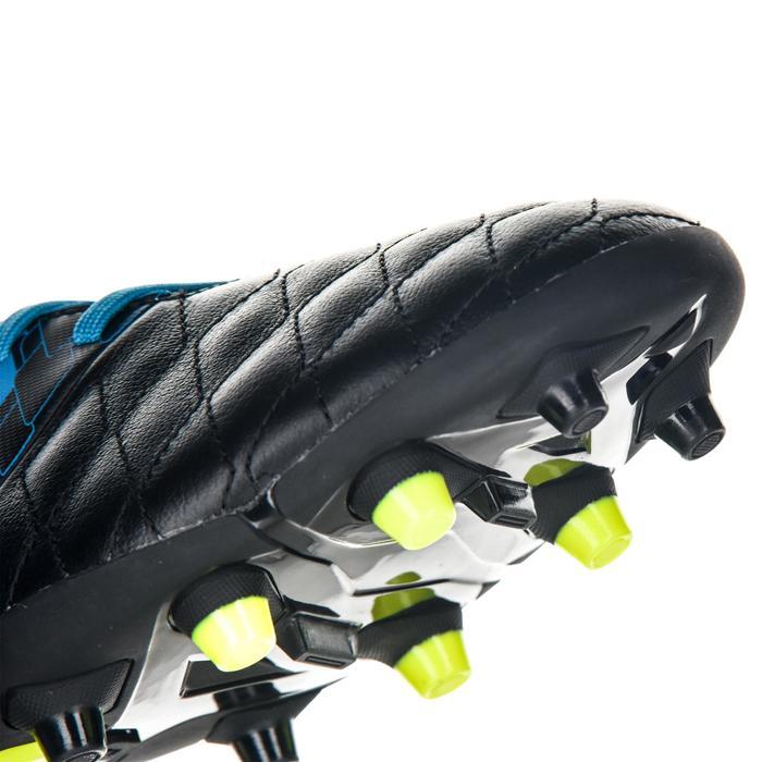 Chaussure de rugby adulte terrains secs Agility R900 FG bleu noir - 1490248