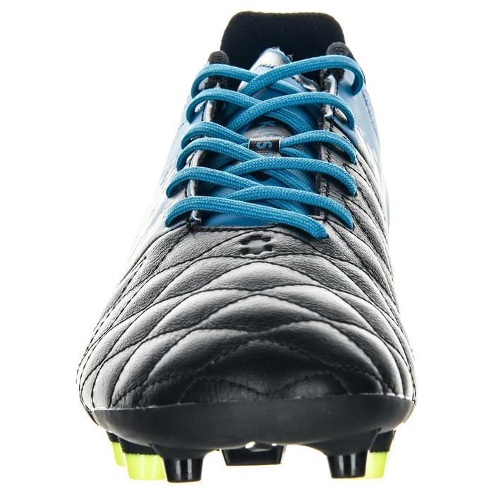 Chaussure de rugby adulte terrains secs Agility R900 FG bleu noir - 1490255