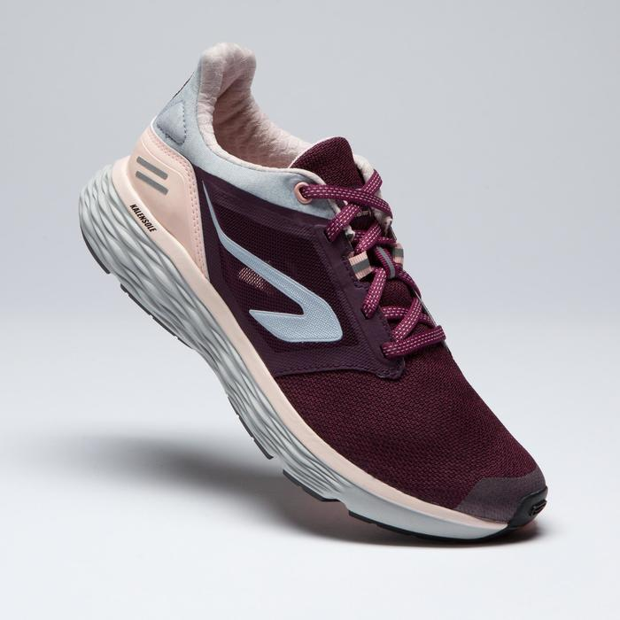 Laufschuhe Run Comfort Damen bordeaux