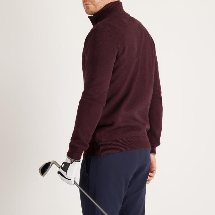 MEN'S NAVY COLD-WEATHER GOLFING PULLOVER - 1490322