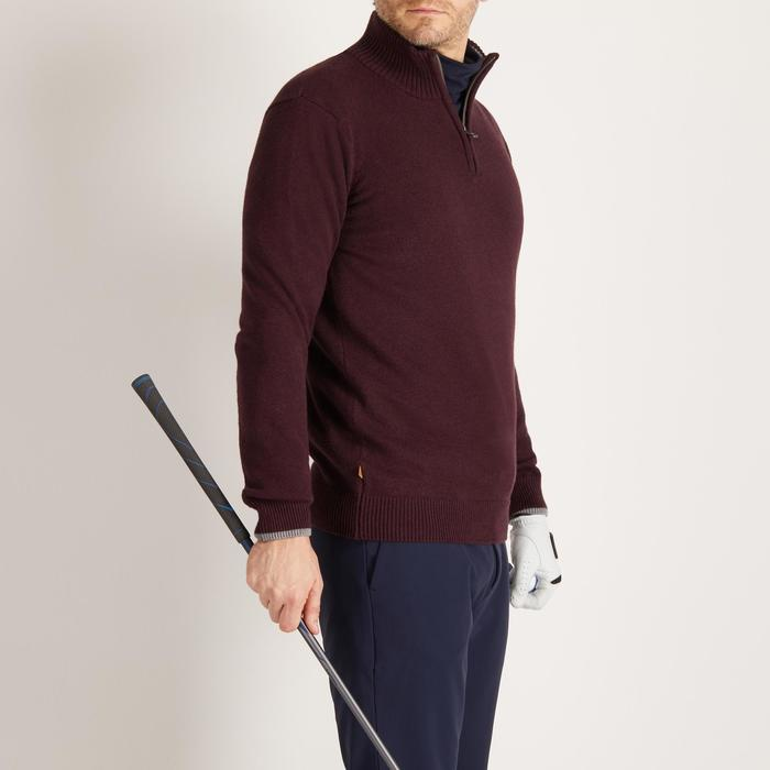 MEN'S NAVY COLD-WEATHER GOLFING PULLOVER - 1490323